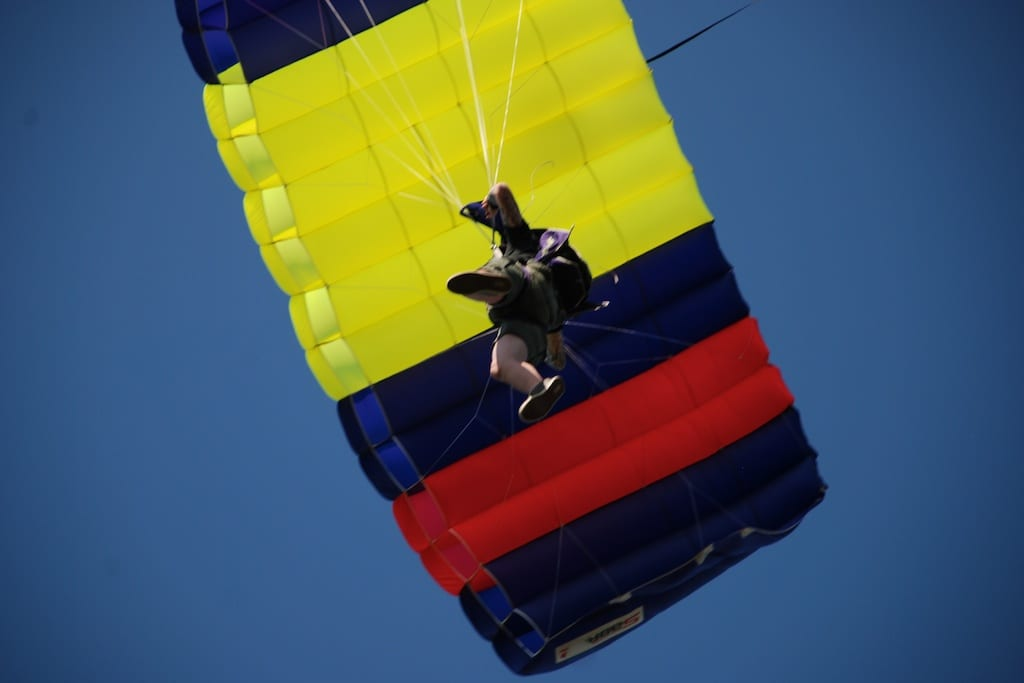 skydiving indiana