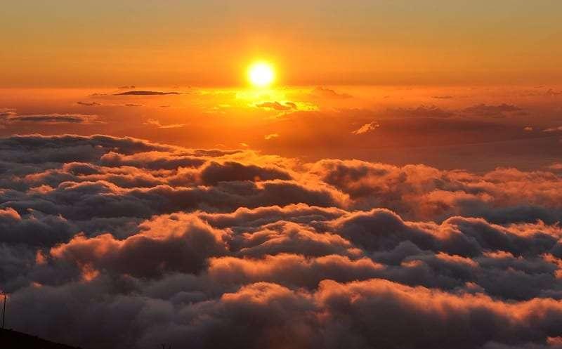 Haleakala sunrise point