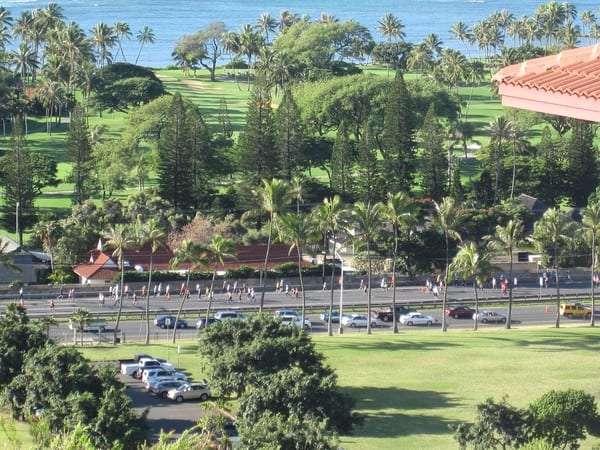 Honolulu marathon event